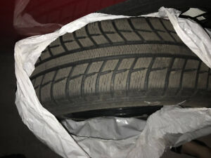 Winter/Snow tires for Honda civic 195/65R/15 with steel rims