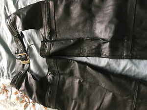 Roadkrome ladies Leather chaps - size small