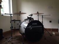 Tama 6 piece drum kit