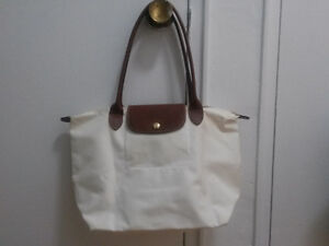Longchamp Le Pliage medium tote,long handles .