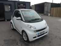 2011 11 SMART FORTWO 1.0 MHD PASSION SOFTOUCH 2 DOOR