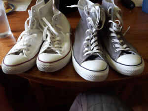 Mens 9.5 converse sneakers $35 for one pair or $60 for both