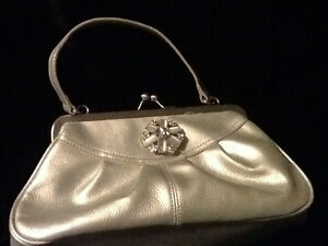 Silver bag, great for prom