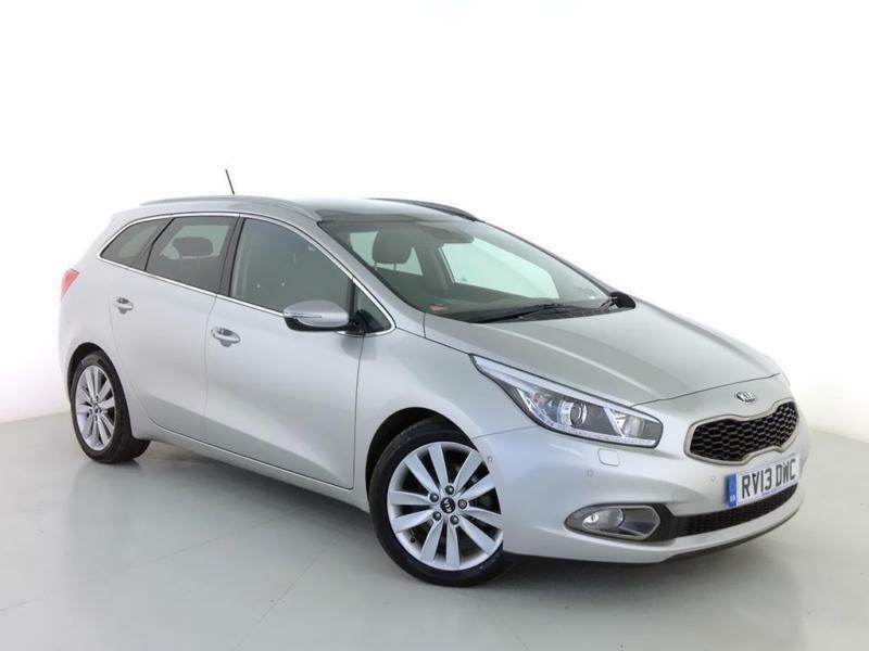 2013 KIA CEED 1.6 CRDi 4 Tech Sat Nav Panroof Leather Bluetooth