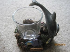 Various candle holders and Sairey Gamp ashtray Windsor Region Ontario image 7