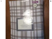 Super King brushed cotton duvet cover with 2 pillow cases from M&S