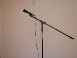 Brand New Microphone & Stand For Sale