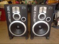 Pair of jamo speakers