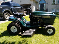 Craftsman riding lawnmower tractor rider Special Edition