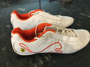MEN'S SIZE 11 ORANGE FERRARI PUMAS