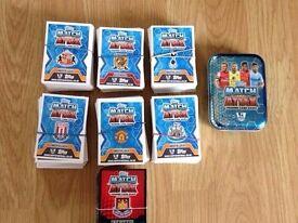 match attax 498x 14 80x15 cards