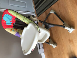 Baby high chair and kit / Fisher Price