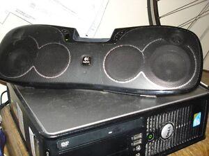 Logitech rechargable speaker -I-Pod port