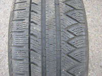 2 x 245/45/18 MICHELIN PILOT alpin pa3SNOW  tires %75 tread