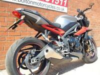 2017 TRIUMPH STREET TRIPLE R NAKED MOTORCYCLE