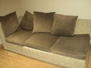 Sectional Sofa With Folding Bed