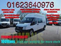 FORD TRANSIT 2.2TDCi 100PS RWD H/ROOF DOUBLE CAB CREW VAN T350 LWB