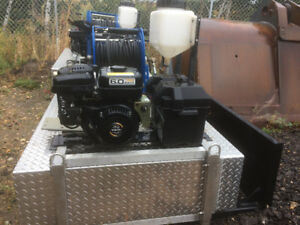 **Reduced**New cold water pressure washer skid with tank