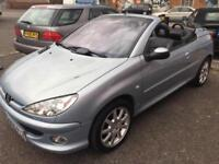 PEUGEOT 206CC 1.6 ALLURE CONVERTIBLE > CLEARANCE SALE PRICE OFFER< DRIVES GOOD
