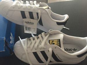 Men's Adidas Superstar Shoes, brand new in box