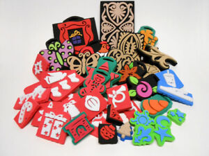 Foam Stamps Christmas & Everyday Themes Qty 40 Crafting Supplies
