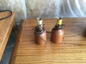 Solid Teak Lamps