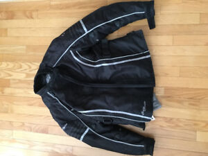 Motorcycle  suit - women's jacket and boots and unisex pants