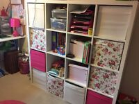 Cube storage cabinet reduced for quick sale