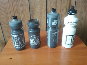 Specialized water bottles.