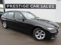 2014 BMW 3 Series 2.0 320d EfficientDynamics Touring (s/s) 5dr Diesel black Auto