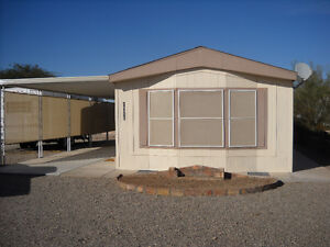 Single wide unit in foothills area of Yuma - $58.00/ day (2016)