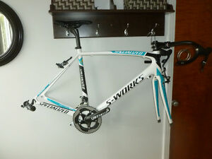 56 cm spécialized s works tarmac team astana sram force 11