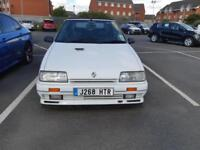 1991 J RENAULT 19 1.8 16V CONVERTIBLE IN WHITE.ONLY 4 OWNERS.RARE OPPORTUNITY.