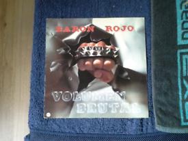 BARON ROJO. VOLUMEN. LP