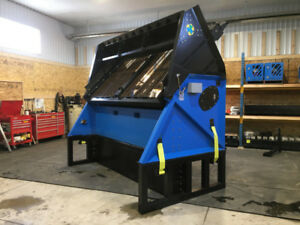 SLG 108VFRB Vibratory Soil Rock Screener for Loaders, Excavators