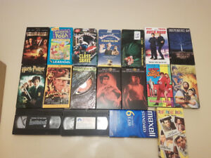 Lot of 34 VHS tapes by Disney, charlie brown, and PICKUP ONLY
