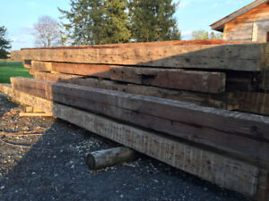 BARN MATERIAL FOR SALE (beams, barn board, rafters, etc.)