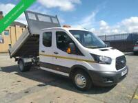 2019 19 FORD TRANSIT DROPSIDE TIPPER DOUBLE CAB / CREW CAB EURO 6 - 6 SPEED - 13