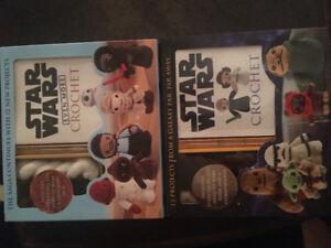 Two Star Wars crochet kits