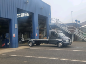 Transit recovery full mot ready for work real minter