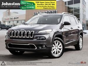 2017 Jeep Cherokee Limited  - Leather Seats -  Bluetooth - $114.