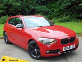 2013 63 BMW 1 SERIES 2.0 116D SPORT 3D AUTO 114 BHP DIESEL