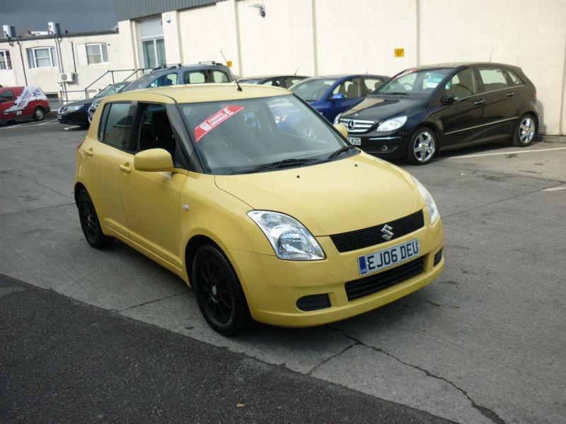 2006 Suzuki Swift 1.3 GL In Canary Yellow Finance from £53.49pm |