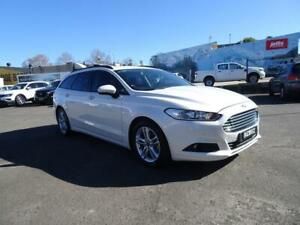 2017 Ford Mondeo MD 2017.50MY Ambiente Frozen White 6 Speed Automatic Wagon