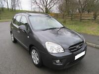 2008 '08' KIA CARENS 2.0 GS 5 DOOR MPV 5 SEATS IN MET GREY ONLY 71,000 MILES
