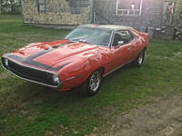 Looking to trade my car and cash for 1967-69 Camaro SS RS VIDEO