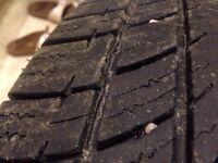 All season tires...