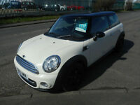 MINI COOPER 2 DOOR MANUAL PETROL CHILLI 1.6 13 PLATE