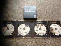 The office series one and two and Christmas specials dvd