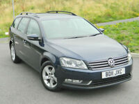 2011 (11) Volkswagen Passat 2.0TDI 140bhp BlueMotion Tech S FULL VW S/H+XENONS